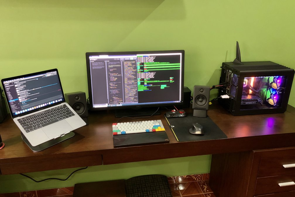 oscarsoto home workspace